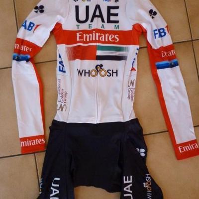 Combinaison route hiver UAE-TEAM EMIRATES 2020 (taille M, liserés)