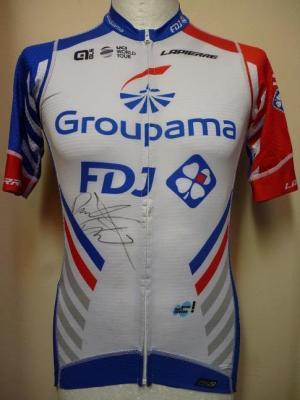 Maillot été GROUPAMA-FDJ (taille M, signé)