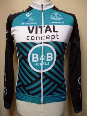 Maillot doublé ML VITAL-CONCEPT-B&B HOTELS 2019 (taille S)