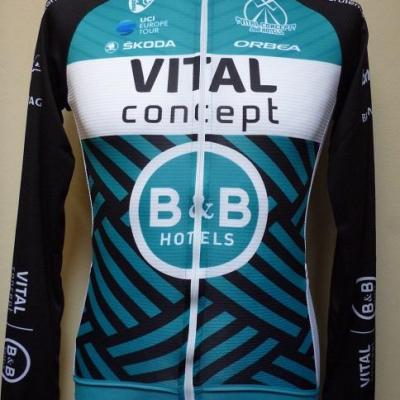 Maillot ML VITAL-CONCEPT-B&B HOTELS 2019 (taille S)