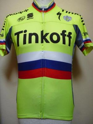 Maillot TINKOFF 2016 champion de Russie  (taille L)