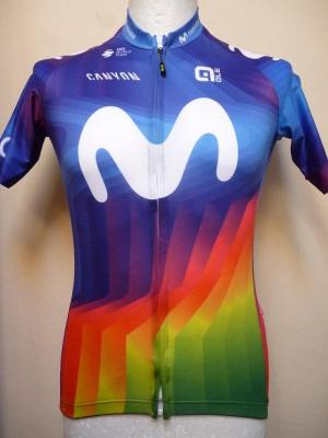 Maillot MOVISTAR 2020 (taille M, Strade Bianche)