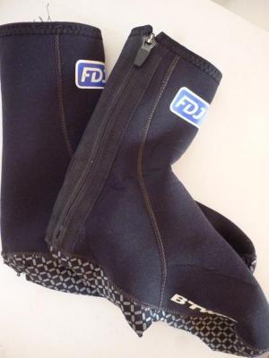 Couvre-chaussures néoprène FDJ (taille L, mod.2)