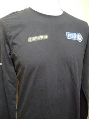 T-shirt ML noir FDJ (taille S)
