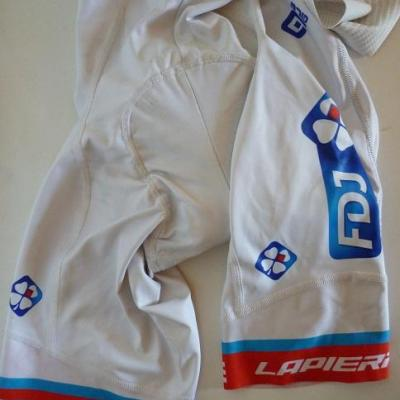 Cuissard luxe blanc FDJ 2017 (taille L)