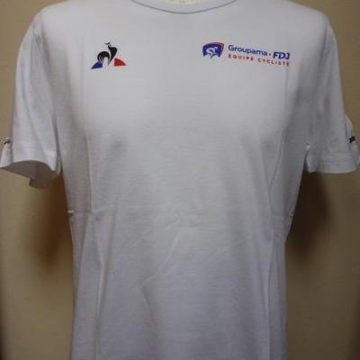 T-shirt GROUPAMA-FDJ (taille M, mod.1)