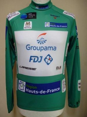 Maillot vert protocole 4 Jours de Dunkerque-GROUPAMA-FDJ