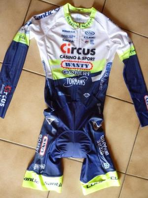 Combinaison CLM CIRCUS-WANTY 2020 (taille S)