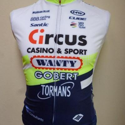 Gilet coupe-vent CIRCUS-WANTY 2020 (taille XS)