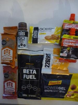 Lot de 10 GELS/BARRES ENERGETIQUES
