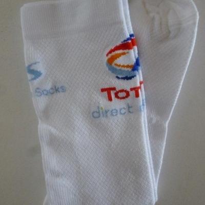 Socquettes TOTAL-DIRECT-ENERGIE 2020 (taille unique)