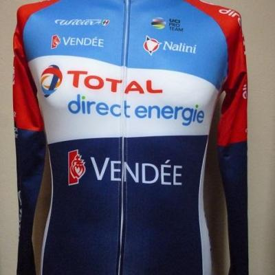 Maillot ML TOTAL-DIRECT-ENERGIE 2020 (taille S)