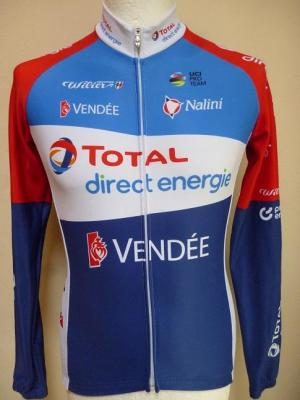 Maillot ML doublé TOTAL-DIRECT-ENERGIE 2020 (taille S)