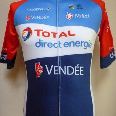 Maillot doublé TOTAL-DIRECT-ENERGIE 2020 (taille S)