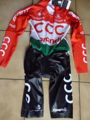 Combinaison CLM ch. de Hongrie-CCC 2020 (taille S, mod.1)