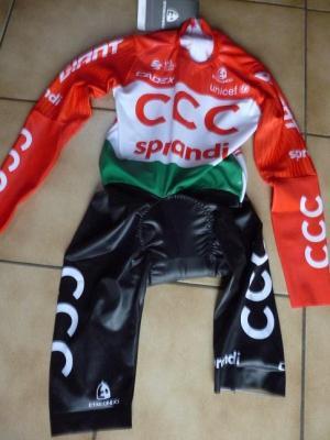 Combinaison CLM ch. de Hongrie-CCC 2020 (taille S, mod.2)