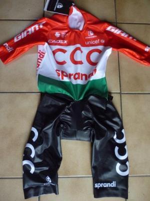 Combinaison CLM MC ch. de Hongrie-CCC 2020 (taille S)