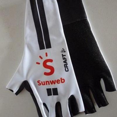 Gants aéros SUNWEB 2020 (taille M, blanc)