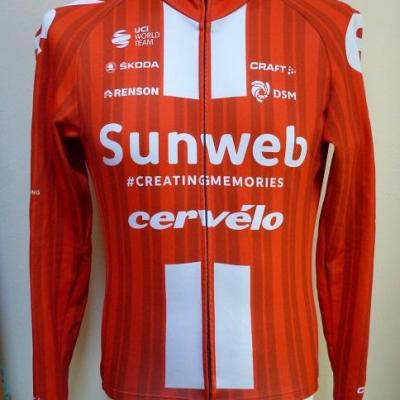 Maillot ML doublé SUNWEB 2020 (taille M)