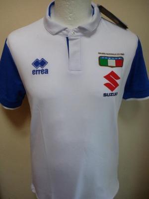 Polo blanc équipe d'ITALIE (taille S)