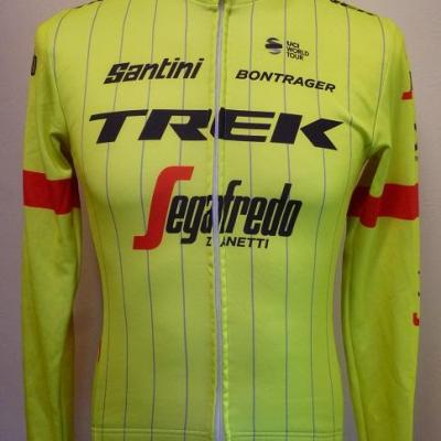 Maillot manches longues luxe TREK-SEGAFREDO 2018 (taille XS)