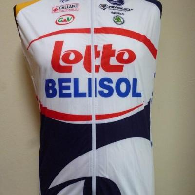 Gilet coupe-vent LOTTO-BELISOL 2013 (taille S, mod.1)