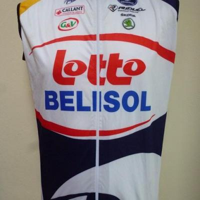 Gilet coupe-vent LOTTO-BELISOL 2013 (taille S, mod.2)