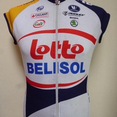 Gilet 1/2 saison LOTTO-BELISOL 2013 (taille S)