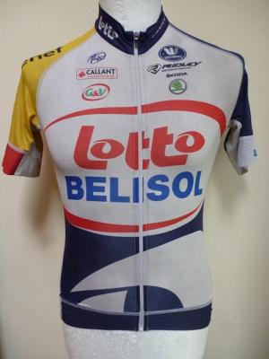 Maillot aéro LOTTO-BELISOL 2013 (taille S)