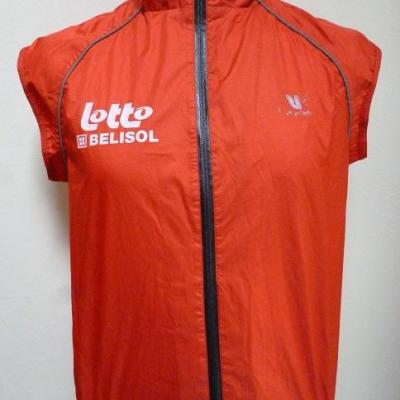 Gilet imperméable style Gore-Tex LOTTO-BELISOL 2013 (taille S)