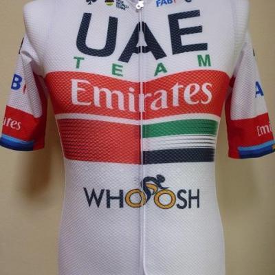 Maillot aéré UAE-TEAM EMIRATES 2020 (taille M, liserés)