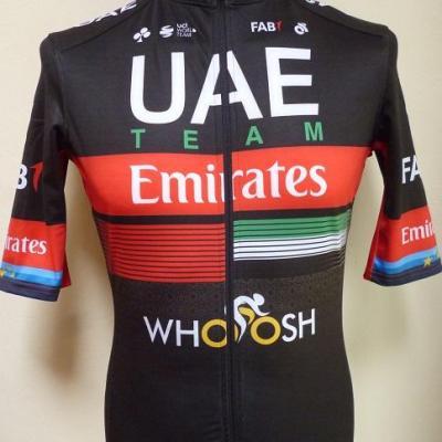 Maillot pluie UAE-TEAM EMIRATES 2020 (taille M, liserés)