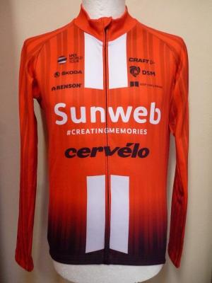 Maillot ML doublé SUNWEB 2019 (taille L)