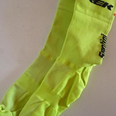 Socquettes jaunes TREK-SEGAFREDO 2020 (taille M)