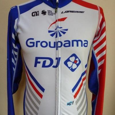 Maillot ML doublé luxe GROUPAMA-FDJ (taille L)