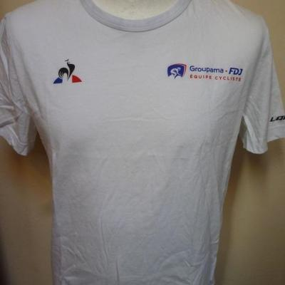 T-shirt GROUPAMA-FDJ (taille M, mod.2)