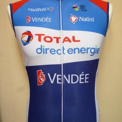 Gilet thermique TOTAL-DIRECT-ENERGIE 2021 (taille S)