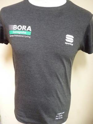 T-shirt gris foncé BORA-HANSGROHE 2020 (taille S, mod.2)
