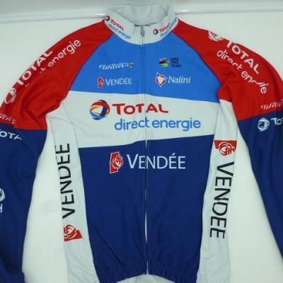 Maillot ML doublé TOTAL-DIRECT-ENERGIE 2021 (taille M)