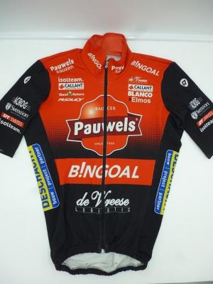 Maillot hiver PAUWELS-BINGOAL (taille S)