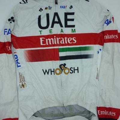 Imperméable UAE-TEAM EMIRATES 2020 (taille M)