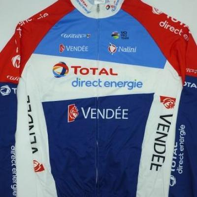 Maillot ML TOTAL-DIRECT-ENERGIE 2021 (taille M)