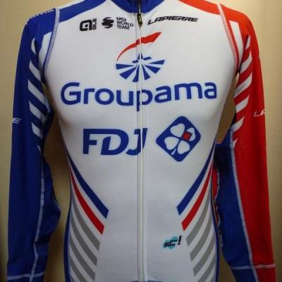 Maillot ML doublé luxe GROUPAMA-FDJ (taille M)