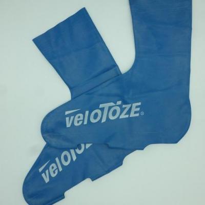 Couvre-chaussures hauts bleus VELOTOZE (taille M)