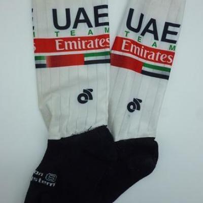 Socquettes aéros UAE-TEAM EMIRATES 2020 (taille S, mod.2)