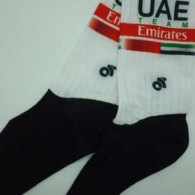 Socquettes aéros UAE-TEAM EMIRATES 2020 (taille L)