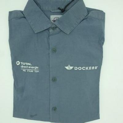 Chemise Dockers-TOTAL-DIRECT-ENERGIE 2021 (taille S, mod.2)
