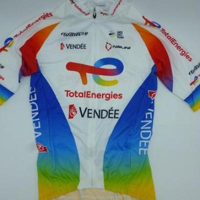 Maillot TOTAL-ENERGIES 2021 (taille XS)