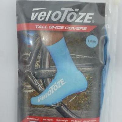Couvre-chaussures hauts bleus VELOTOZE (taille XL)
