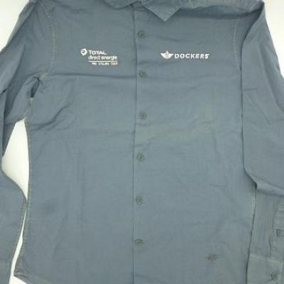 Chemise Dockers-TOTAL-DIRECT-ENERGIE 2021 (taille S, mod.1)